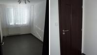 PVC Novilon a interiérové dveře, Kolín