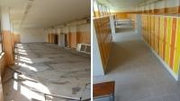 Rekonstrukce šaten, škola Kolín