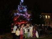 Slavnostní rozsvícení vánočního stromečku s Mikulášskou nadílkou