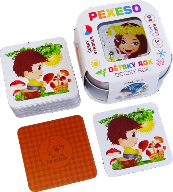 Pexeso - Dětský rok