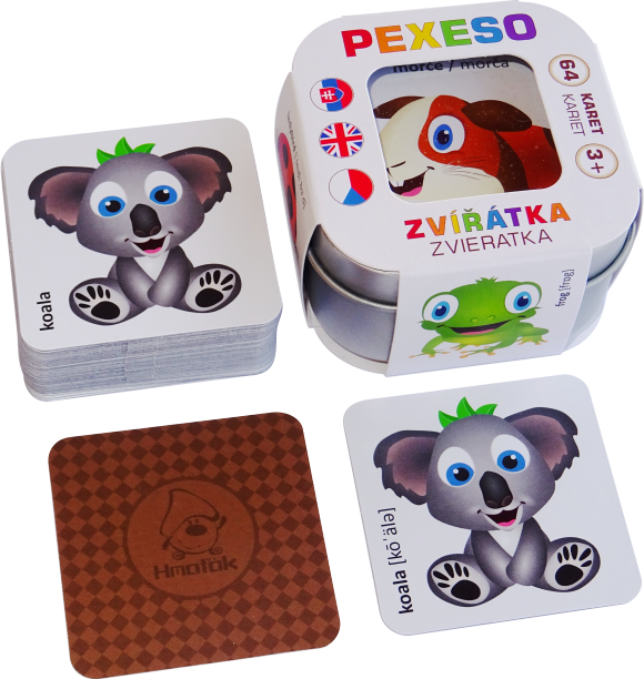 Pexeso - Zvířátka