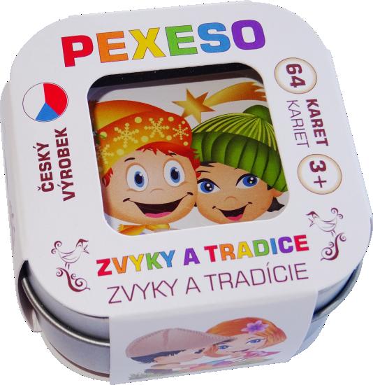 Pexeso - zvyky a tradice