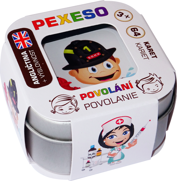 Pexeso - Povolání