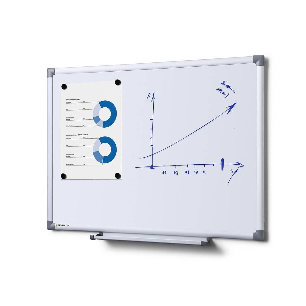 Popisovatelná magnetická tabule - Whiteboard SCRITTO