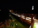 Noční Telč a Penzion Hradební