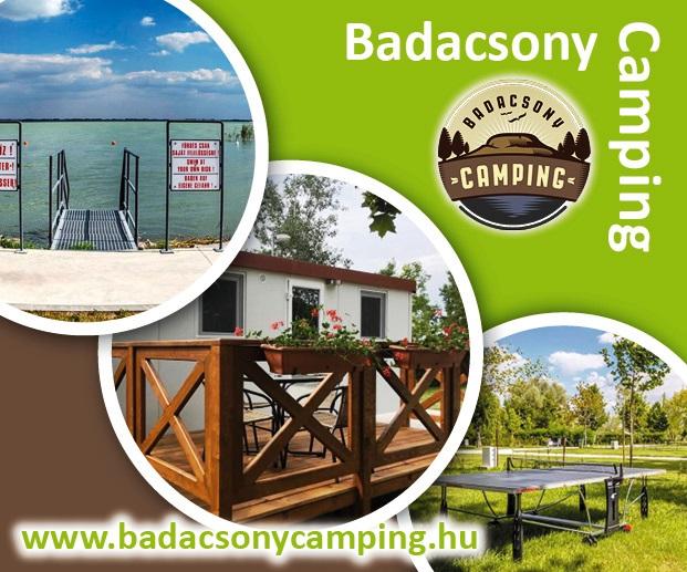 Dovolená u Balatonu v Badacsony Camping. Nově otevřeno!