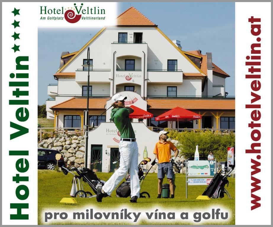 Víno & Golf, Rakousko poblíž hranic, 4* Golf Hotel Veltlin