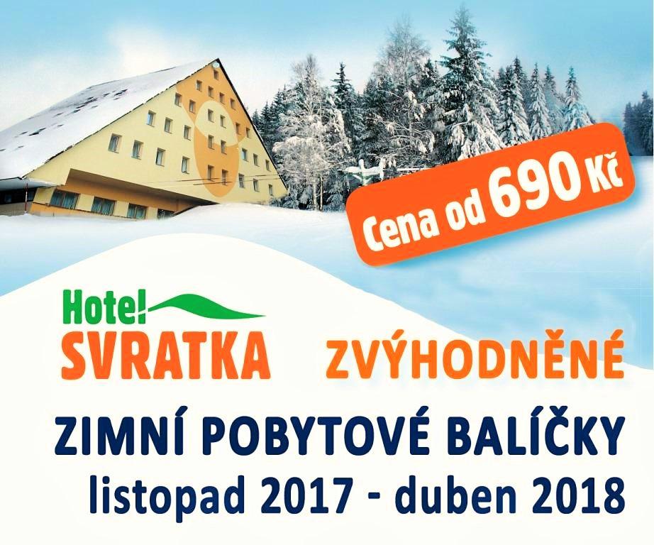 Zimní pobytový balíček Hotelu Svratka