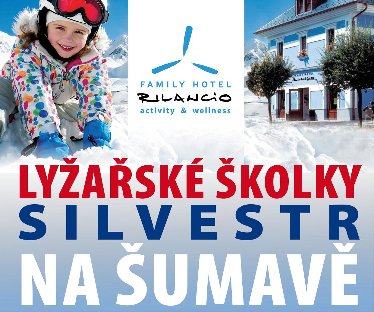 Zimní dovolená a Silvestr na Šumavě