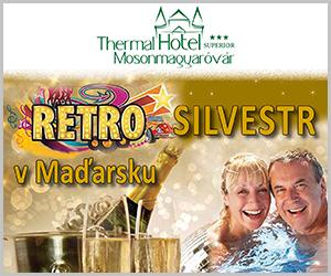 Silvestr v maďarských termálních lázních v hotelu Thermal *** Superior