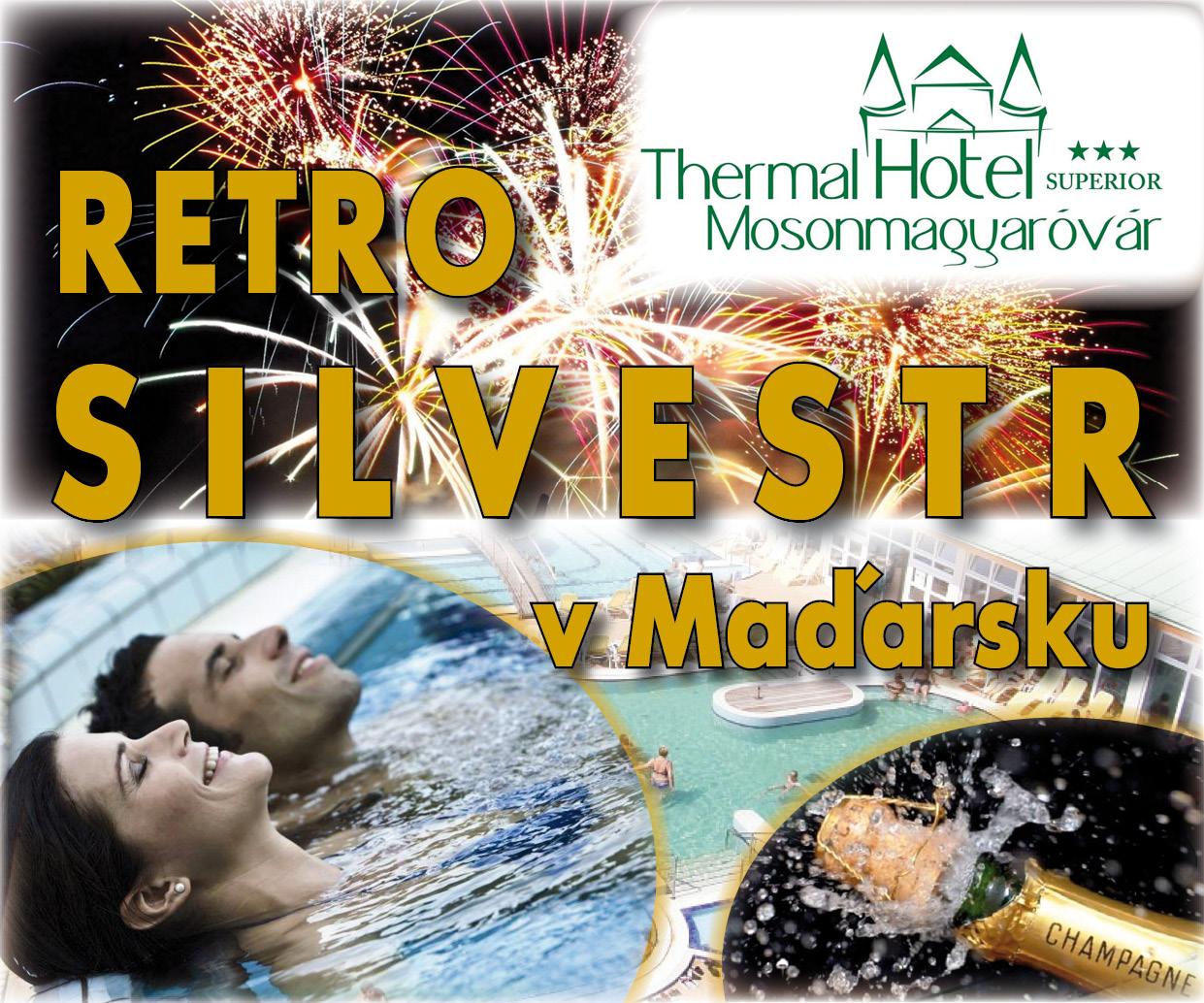 Wellness Silvestr v maďarských termálních lázních v hotelu Thermal *** Superior.