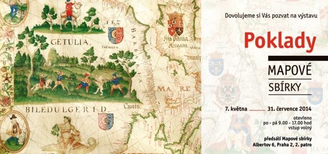 Světové unikáty a umělecká historická díla kartografie představuje výstava Poklady mapové sbírky