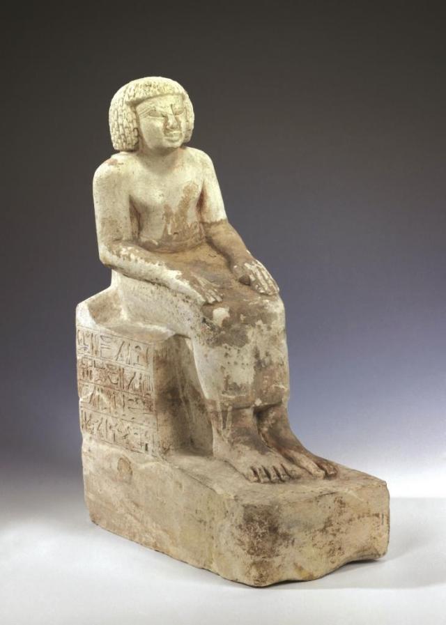 Socha zástupce místokrále pro Dolní Núbii Ruiua, foto Národní muzeum