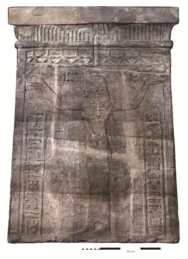 Oltář opatřený jmény krále Natakamaniho a královny Amanitore, foto Národní muzeum