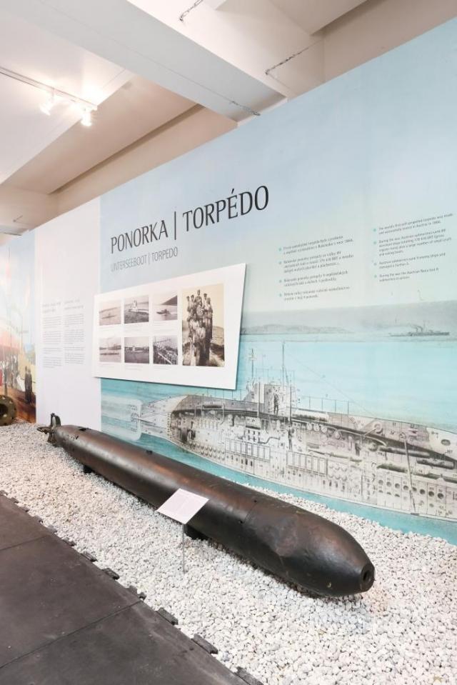 """Nová výstava v Národním technickém muzeu s názvem """"Naše moře…"""", foto Národní technické muzeum"""