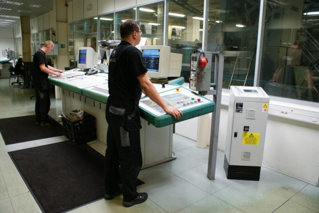 Noviny Praha Press - tisková technologie, foto Praha Press