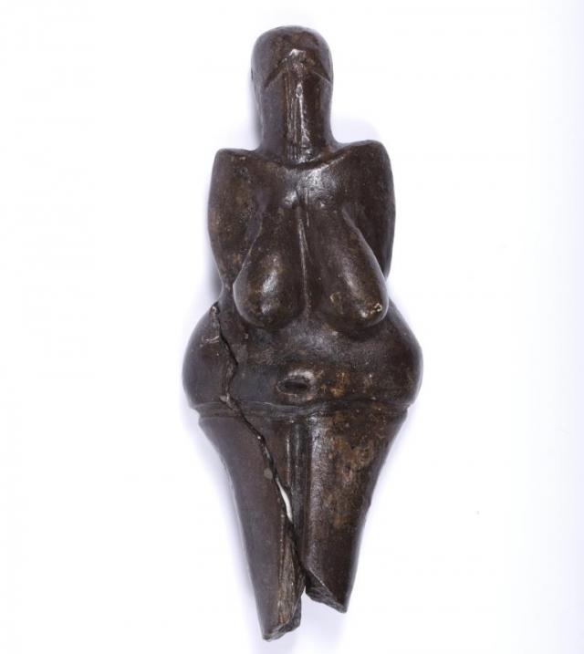 Věstonická venuše, foto Národní muzeum