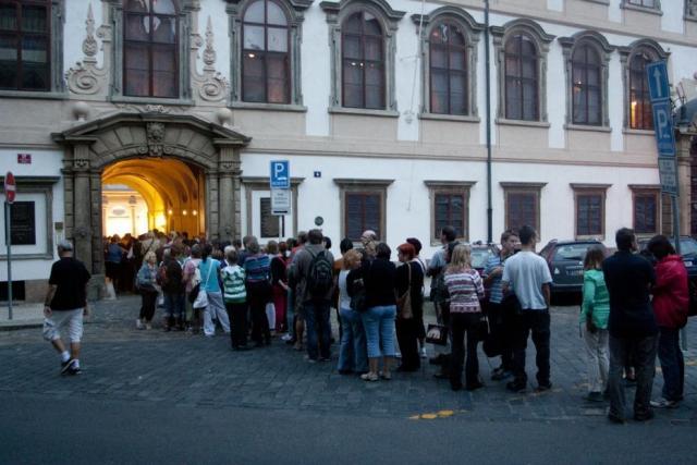 Noc otevřených dveří Valdštejnského paláce, foto Senát PČR