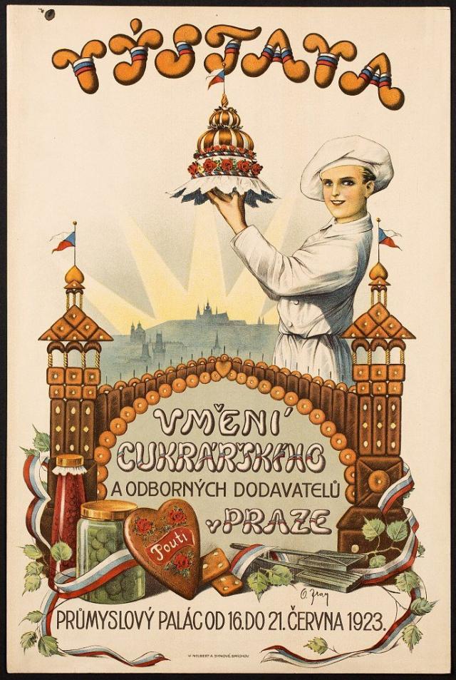Na začátku 20. století bylo na našem území mnoho cukrářských výroben, které dosahovaly, foto Muzeum hlavního města Prahy