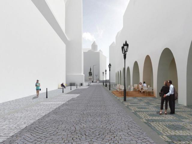 Jak bude vypadat Malostranské náměstí? Architektonická soutěž zná vítěze, foto Institut plánování a rozvoje hlavního města Prahy