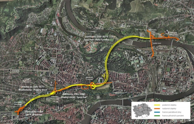 Tunel Blanka se otevře 2. prosince 2014, foto www.tunelblanka.cz