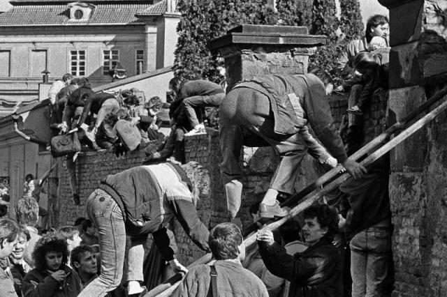 Německý podzim 1989. Národní muzeum připomíná významnou historickou událost výstavou fotografií, foto Karel Cudlín