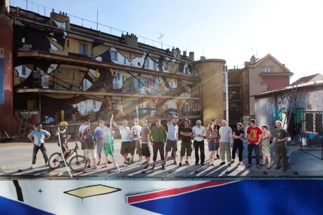Současní rezidenti hledají zatím ne zcela úspěšně nové prostory pro svoji tvůrčí a výstavní činnost, foto Trafačka