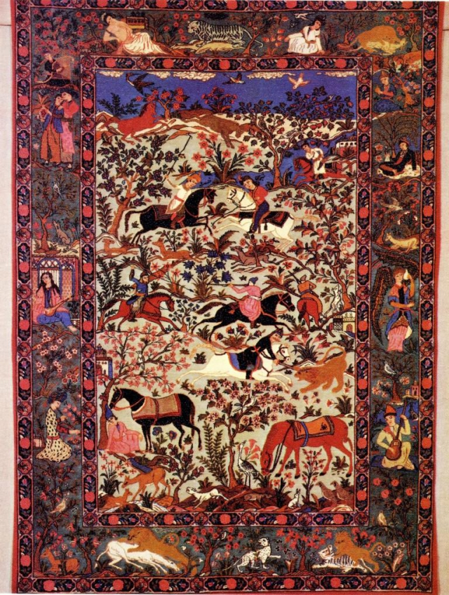 Koberec, foto Národní muzeum