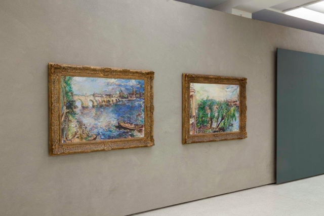 Oskar Kokoschka se vrací do Prahy. Národní galerie v Praze vystavuje jeho prvorepubliková díla, foto Národní galerie v Praze