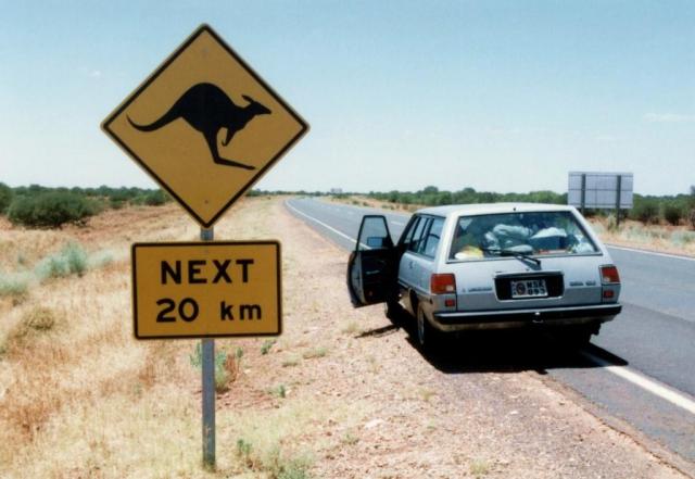 Hezké dopravní značky upozorňující na zvířata opravdu varují. Foto Martin Pohanka