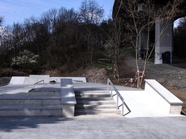 Nové multifunkční adrenalinové hřiště Skatepark Vysočany je na světové úrovni, foto ÚMČ Praha 9