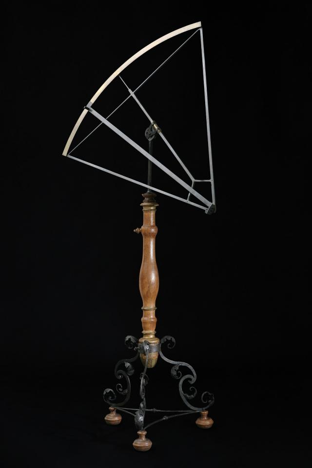 Sextant J Bürgi, 1600, foto Národní technické muzeum
