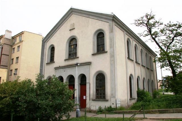 Synagoga na Palmovce, foto ÚMČ Praha 8
