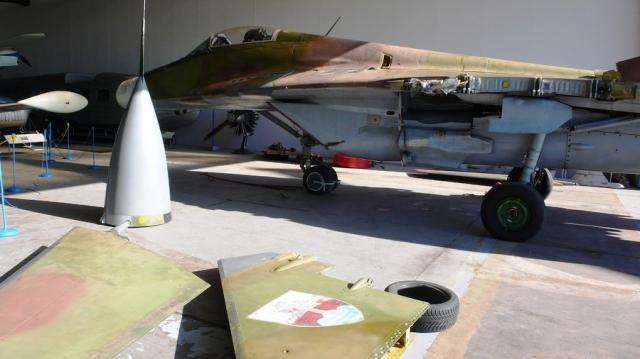 Unikátní exponát MiGu-29 pro sbírku leteckého muzea Kbely, foto VHÚ