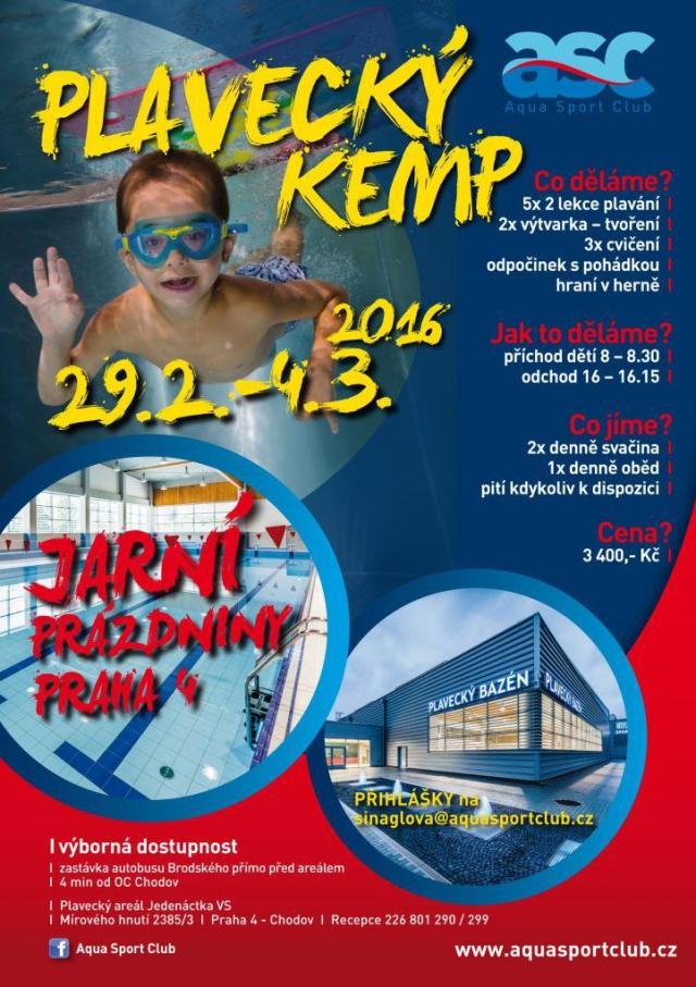 Naplánujte dětem prázdninový plavecký kemp
