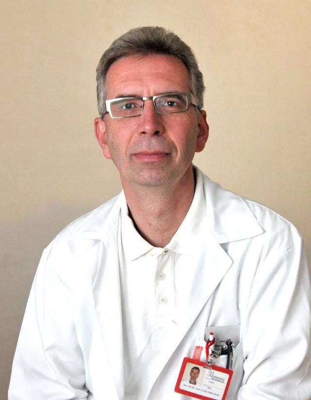 Prof. MUDr. Petr Neužil, CSc., FECS, primář Kardiologického oddělení Nemocnice Na Homolce, foto Nemocnice Na Homolce