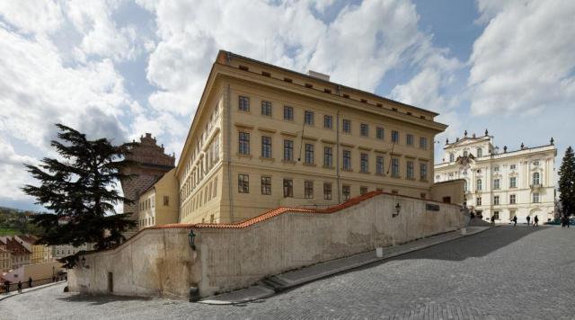 Klasicistní Salmovský palác, foto Národní galerie v Praze