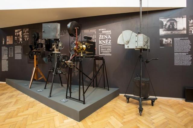 Počátky filmového průmyslu u nás představí výstava Národního technického muzea. Foto NTM