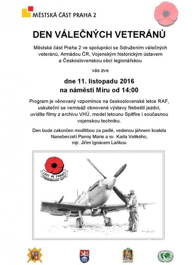 Den válečných veteránů na náměstí Míru