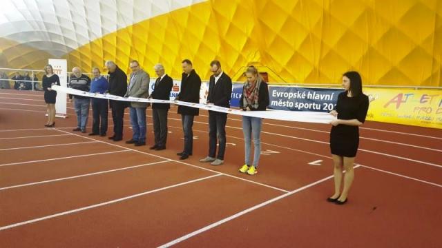 Atletická hala na Strahově je po rekonstrukci, foto Magistrát hl. m. Prahy