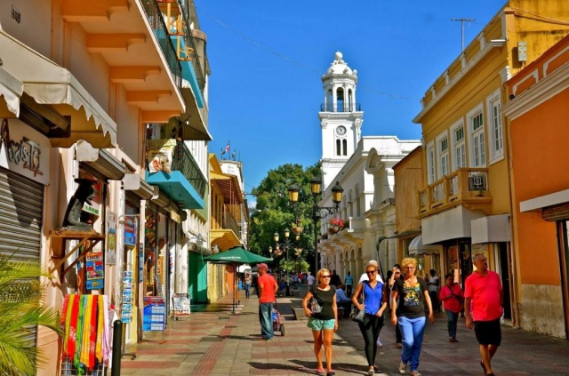 Calle-El-Conde, Santa Domingo, foto Národní turistický úřad Dominikánské republiky