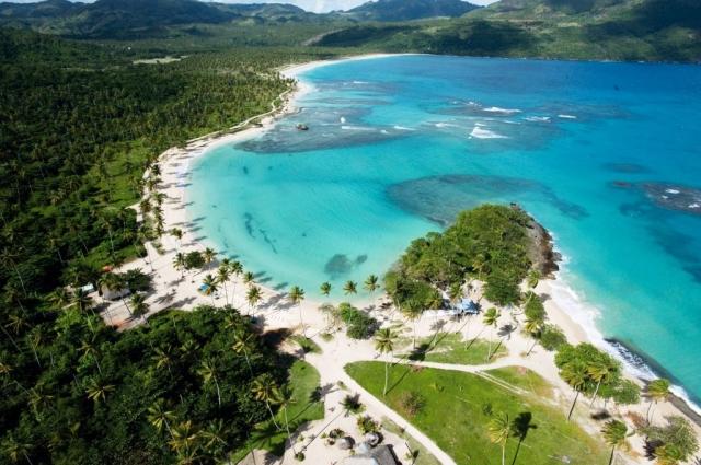 Pláž Rincon, Samaná, foto Národní turistický úřad Dominikánské republiky