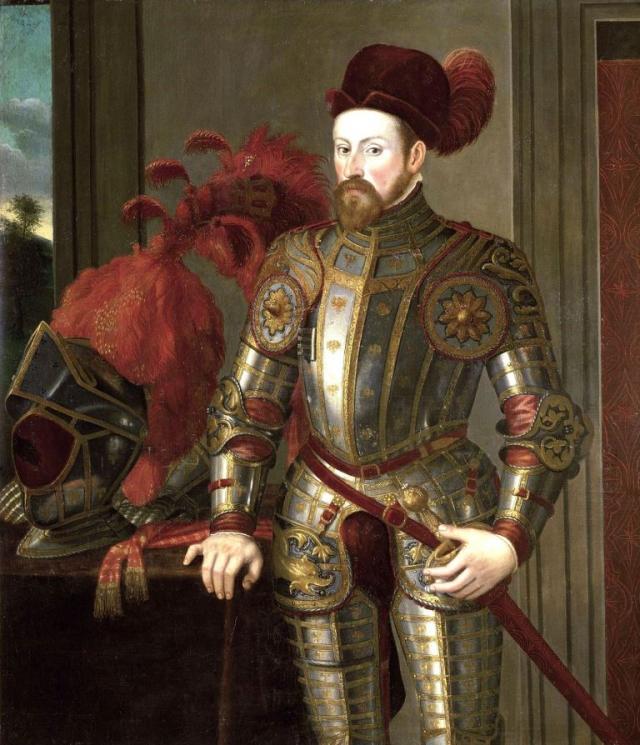 Francesco Terzio, Portrét arcivévody Ferdinanda II., 1556-1557, foto Národní galerie