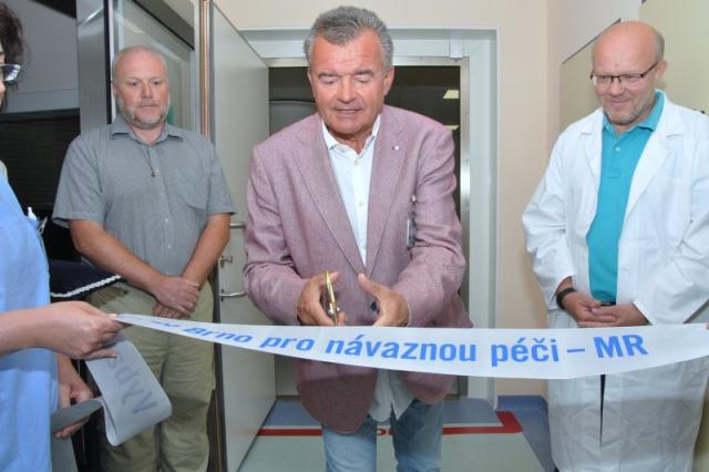 Fakultní nemocnice Brno spouští novou magnetickou rezonanci, foto FN Brno