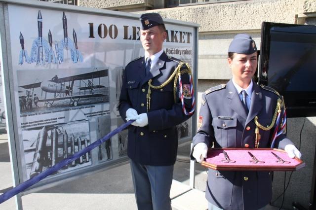Výstava 100 let raket na Vítězném náměstí, foto VHÚ