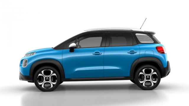 Nové kompaktní SUV Citroën C3 Aircross je finalistou ankety Autobest 2018, foto Citroën