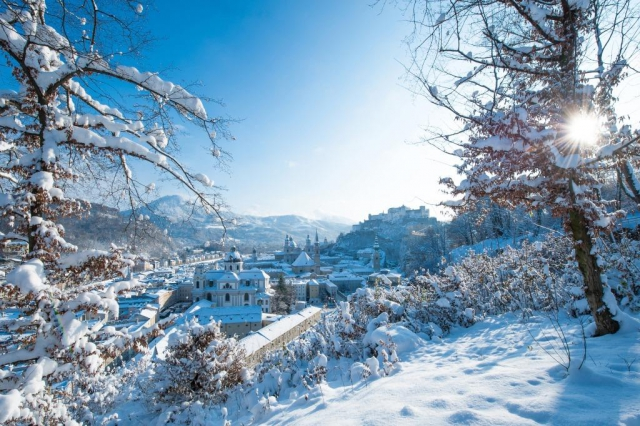 Salzburg v zimě, foto © Tourismus Salzburg GmbH