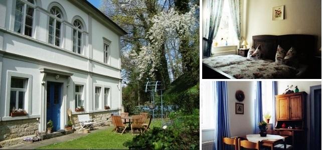 . Pension Am Schlossberg Pirna nabízí útulné ubytování v pokojích vybavených sprchou, WC a kabelovou televizí a bezplatným Wi-Fi připojením.