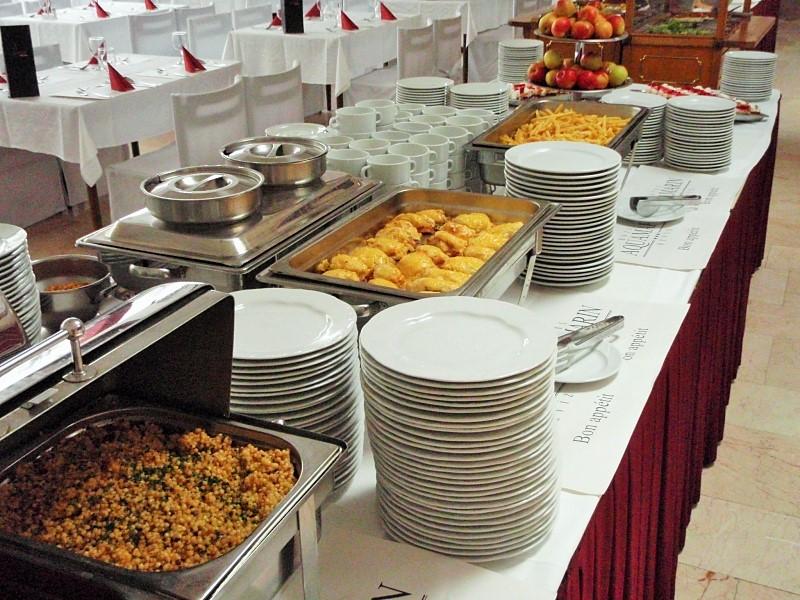 Hotel Aquamarin - gastronomie