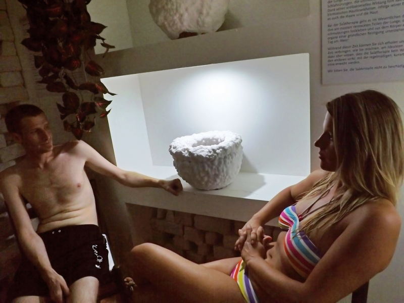 Hotel Aquamarin - wellness centrum - solná jeskyně